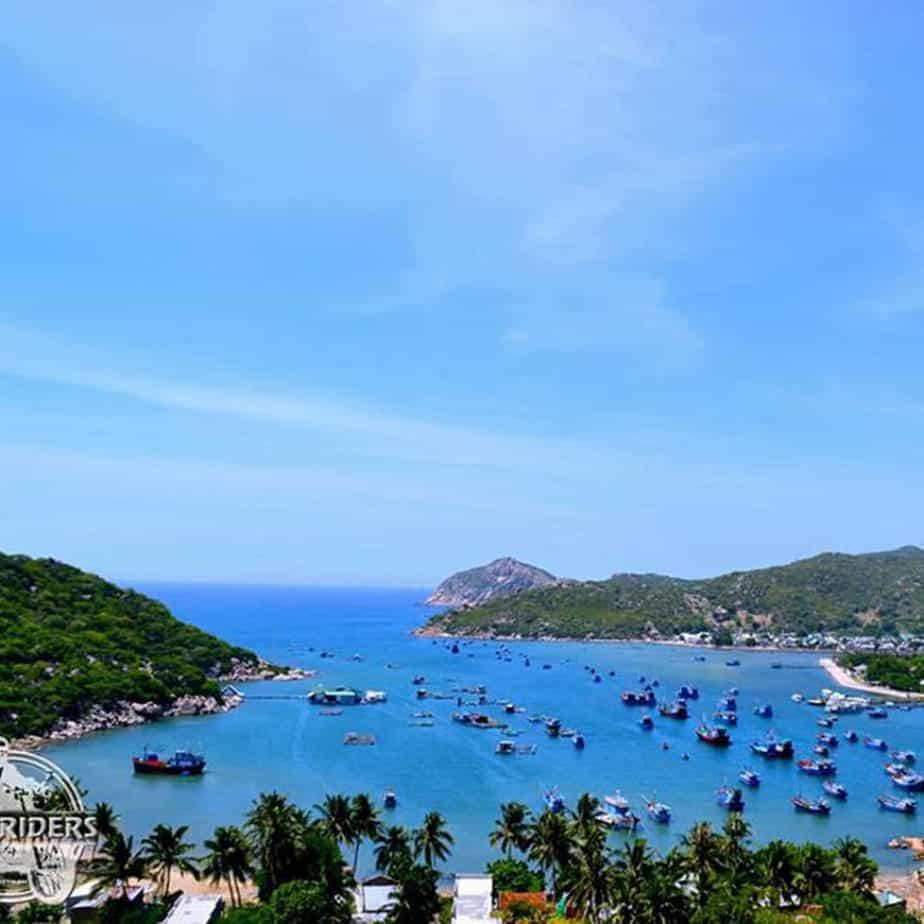 Stunning view of Vinh Hy Bay
