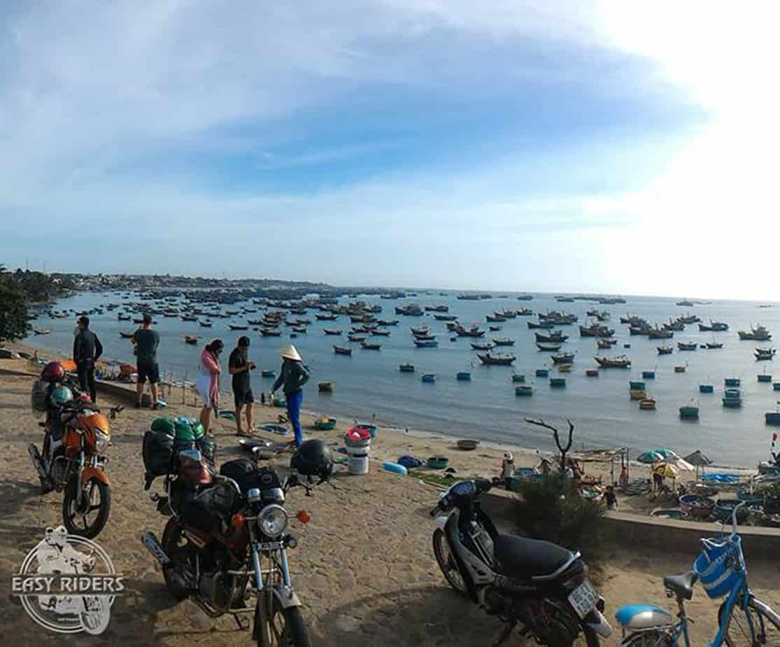 Day 2: Long Hai – Mui Ne Beach(150 km – 4 hours riding)