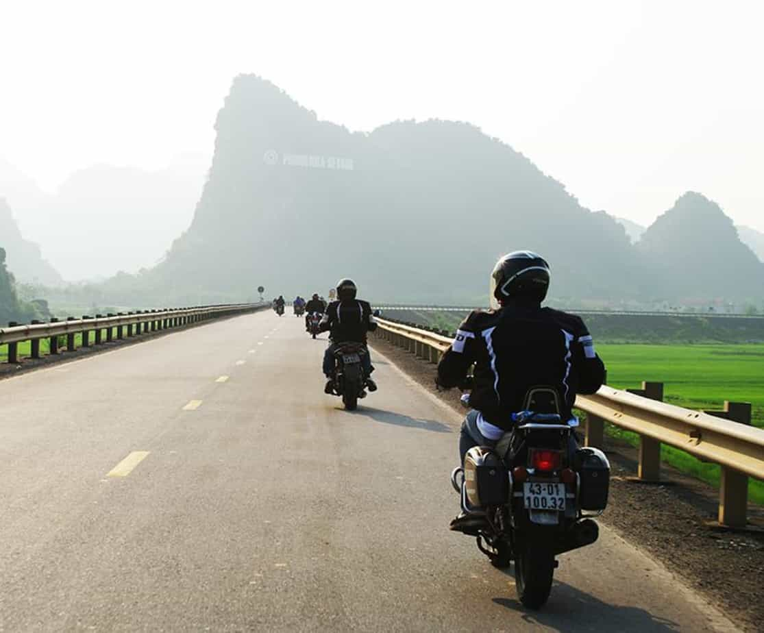 Day 6: Ky Anh - Phong Nha (180 km - 6 hours riding)