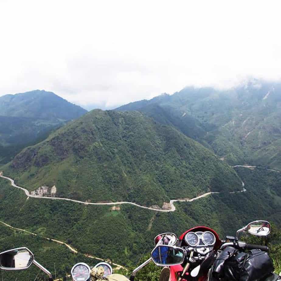 O Qui Ho Pass, Easy Riders Vietnam Tour