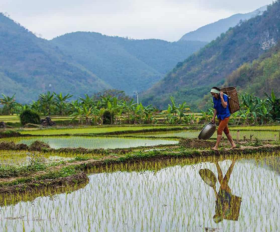 Day 1: Ha Noi - Mai Chau (170 km - 5 hours riding)