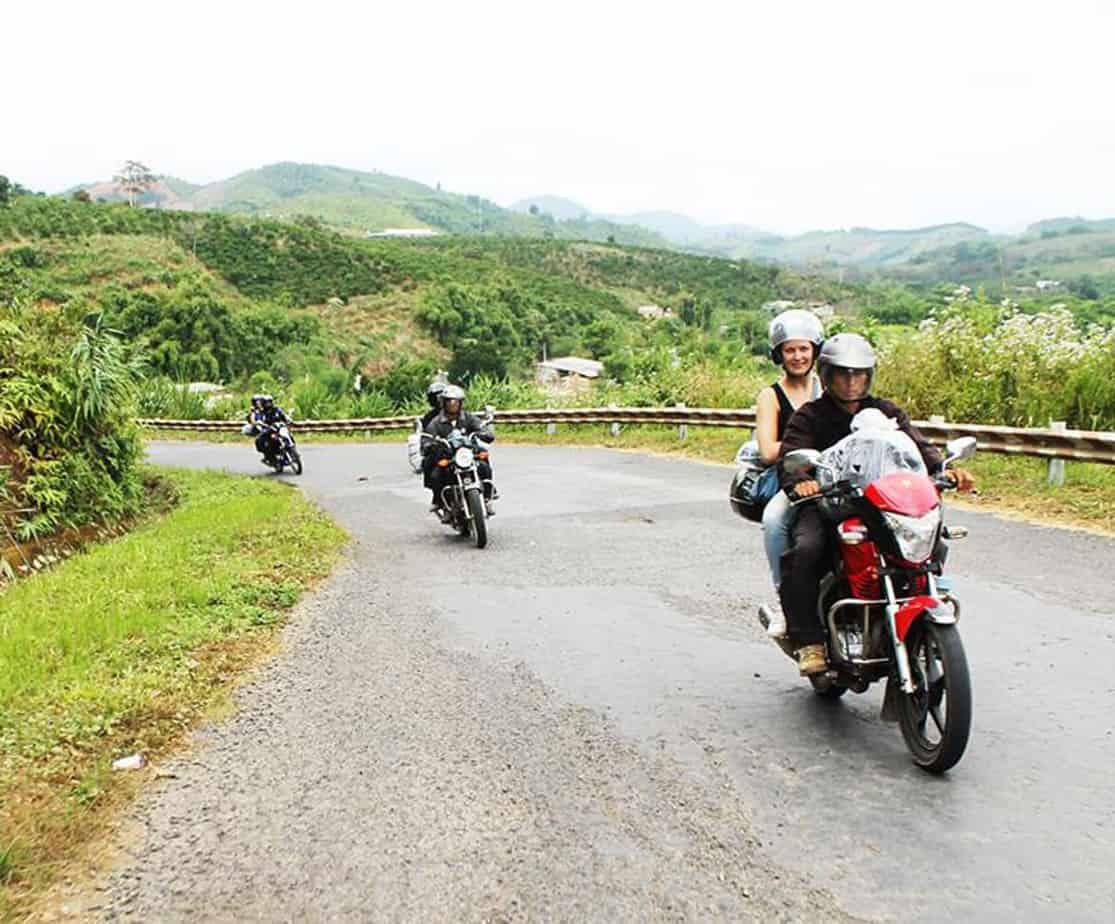Day 3: Lak - Dalat (165 km - 5 hours riding)