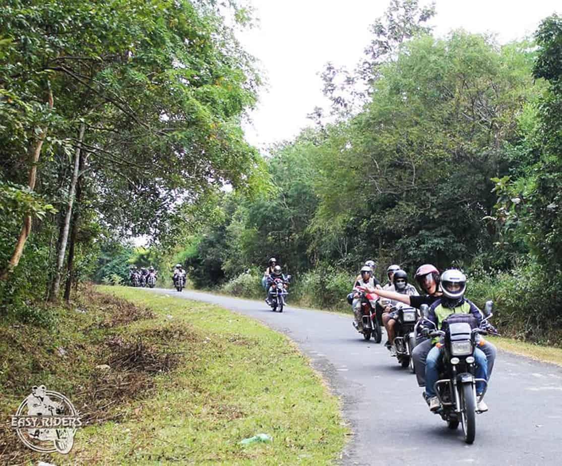 Day 4: Lak - Dray Sap Waterfall (130 km - 3 hours riding)