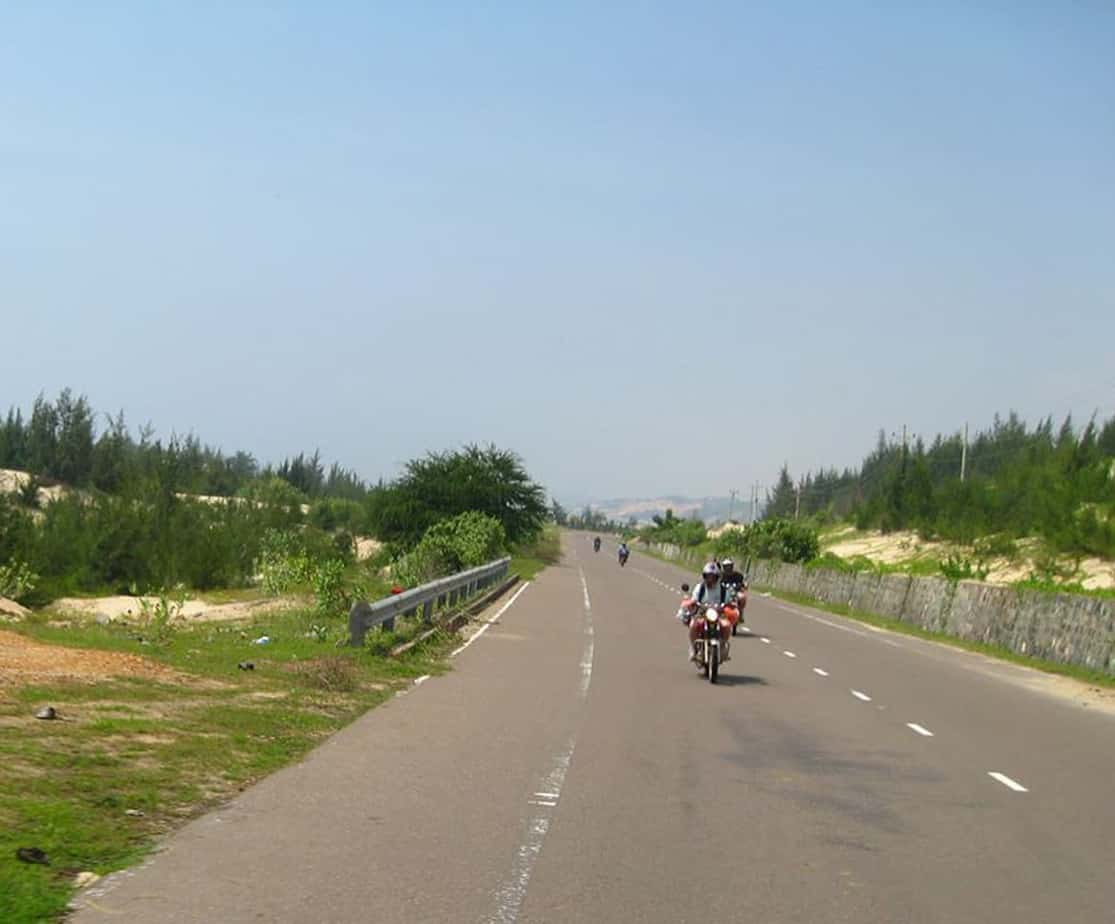 Day 2: Long Hai Beach – Mui Ne (150 km – 4 hours riding)