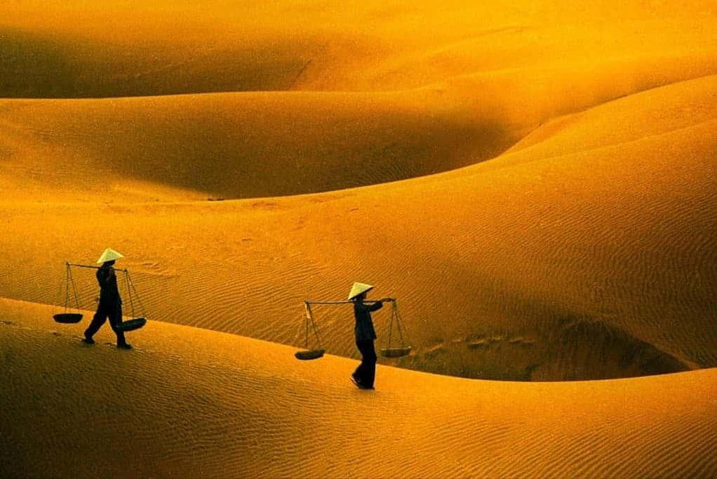 Yellow Sand Dunes, Easy Riders Vietnam Mui Ne