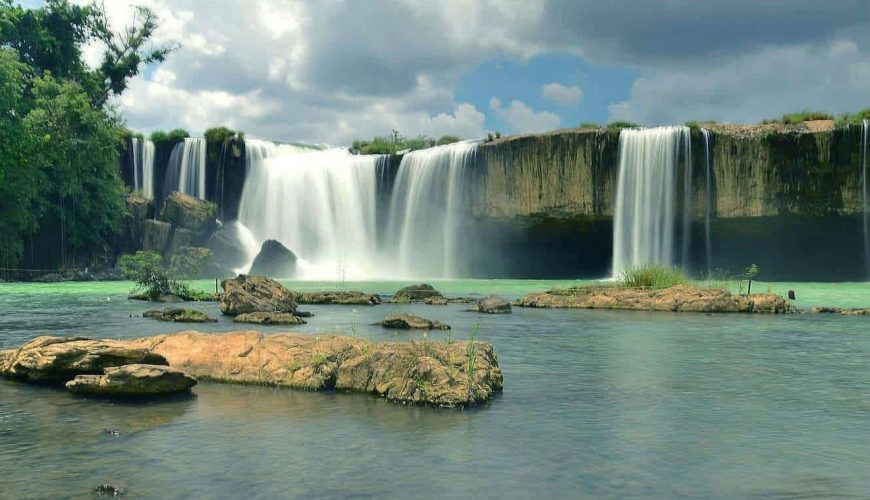 Dray Nur Waterfall, Dak Lak, Central Highlands, Vietnam