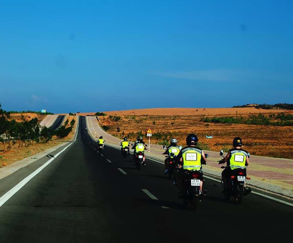 Day 6: Mui Ne - Long Hai (170 km - 5 hours riding)