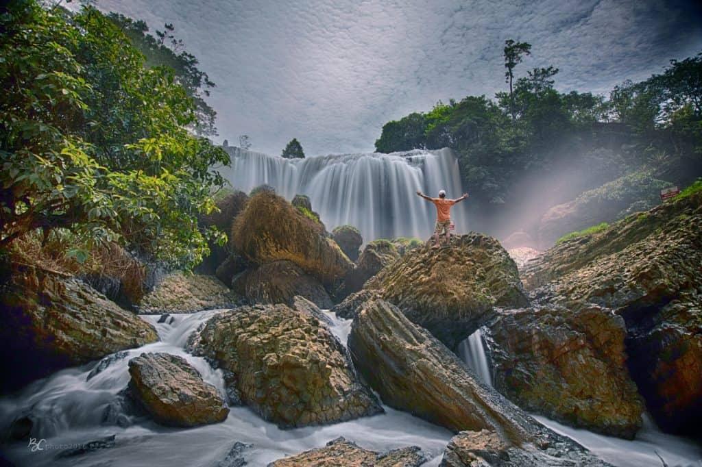 Stunning Elephant Waterfall