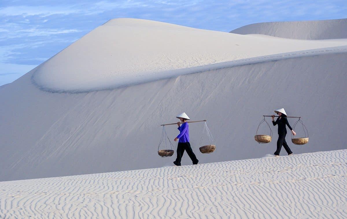 White Sand Dunes, Mui Ne, Easy Riders Vietnam