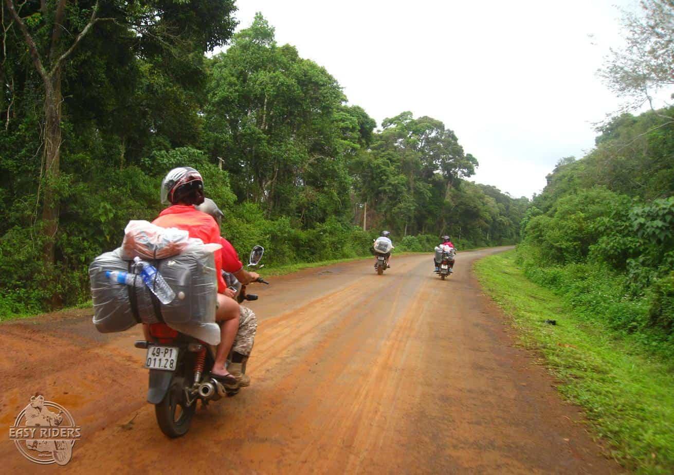 Day 5: Dray Sap Waterfall - Dong Xoai (180 km - 6 hours riding)