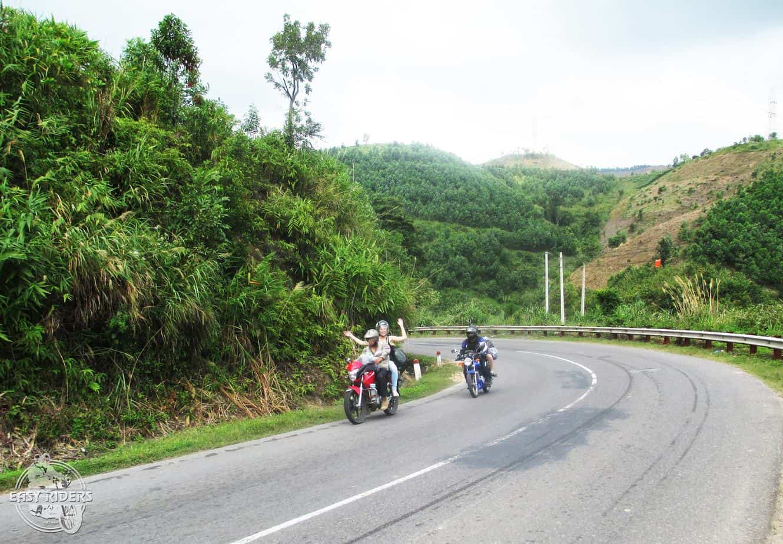Day 2: Lak – Dray Sap Waterfall (130 km – 4 hours riding)