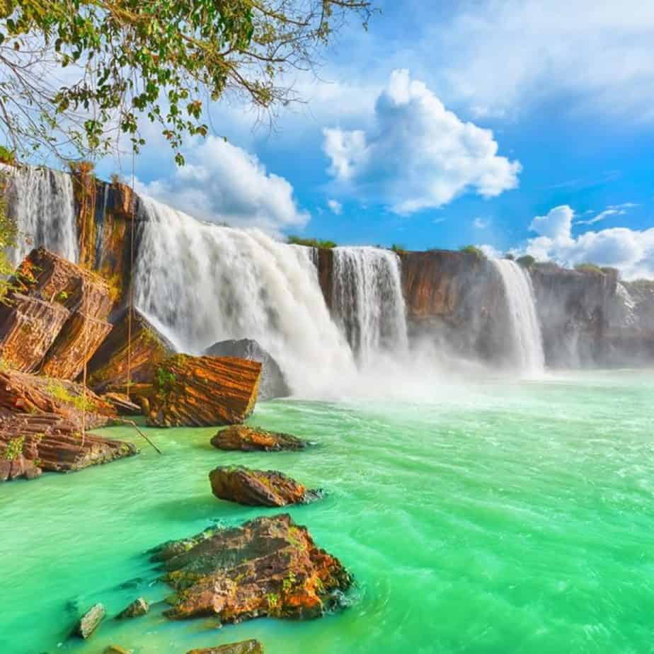 Gia Long Waterfall, Central Highlands