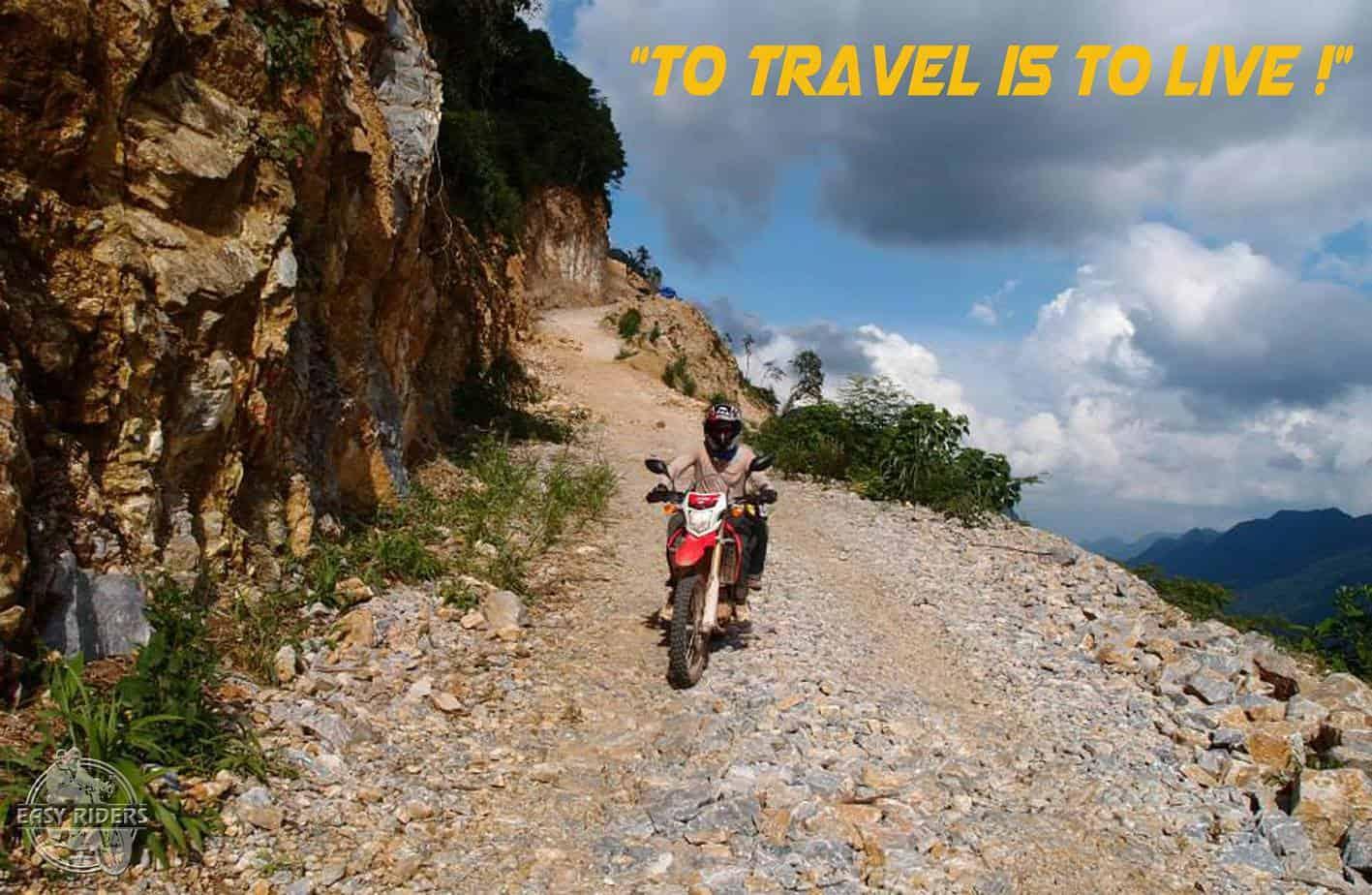 Off-road adventure rider